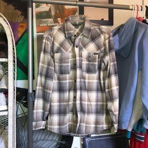 eddie bauer fleece flannel